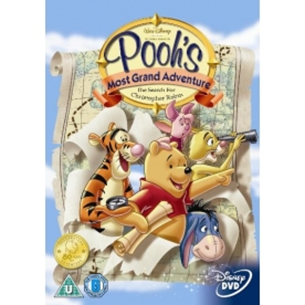 Winnie The Pooh's Most Grand Adventure Search For Christopher Robin DVD