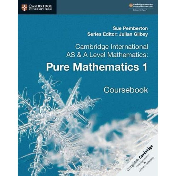 Cambridge International AS & A Level Mathematics: Pure Mathematics 1 Coursebook  Paperback / softback 2018