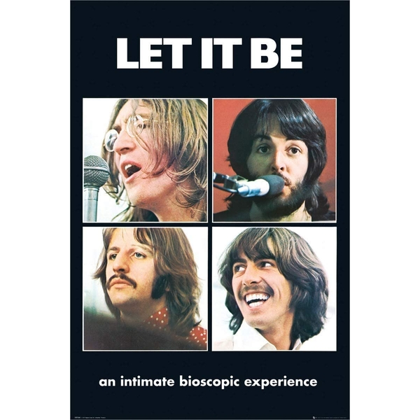 The Beatles Let it Be mxi Poster