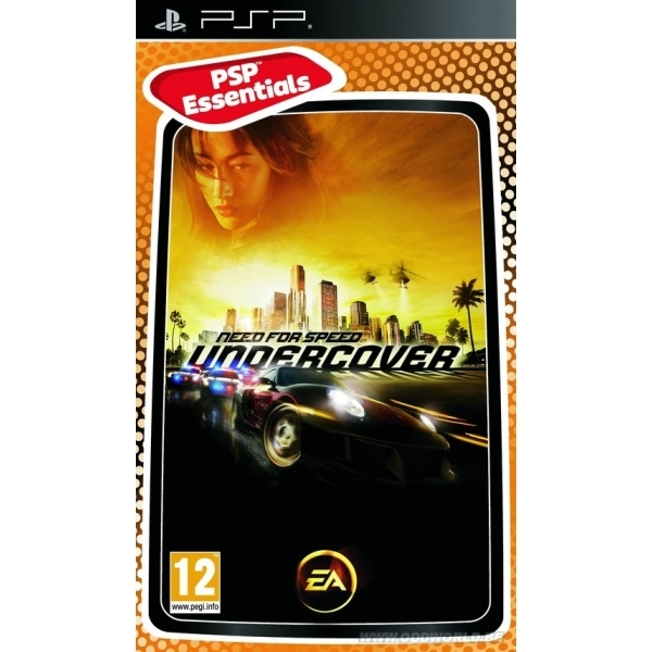 Need for Speed Undercover (Essentials) Game PSP