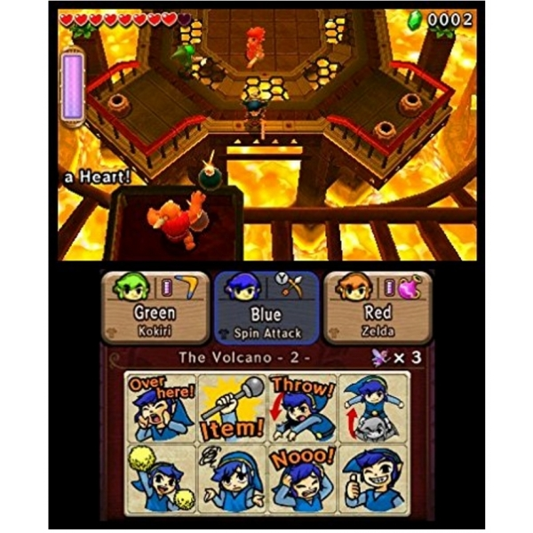 The Legend Of Zelda Triforce Heroes 3DS Game - Image 5