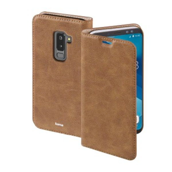 """Hama """"Guard Case"""" Booklet for Samsung Galaxy A6+ (2018), brown"""