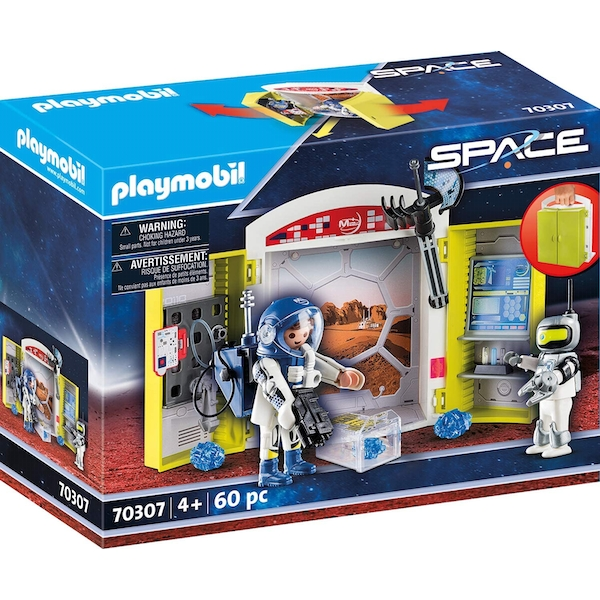 Playmobil City Action Space station Play Box Playset