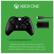 Official Microsoft Wireless Controller With Play And Charge Kit Xbox One