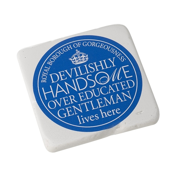 Square Coaster  Handsome Gentleman By Heaven Sends