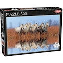Tactic Games Horses 500 Piece Jigsaw Puzzle