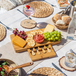 Bamboo Cheese Board Serving Platter With Knife Set | M&W - Image 2