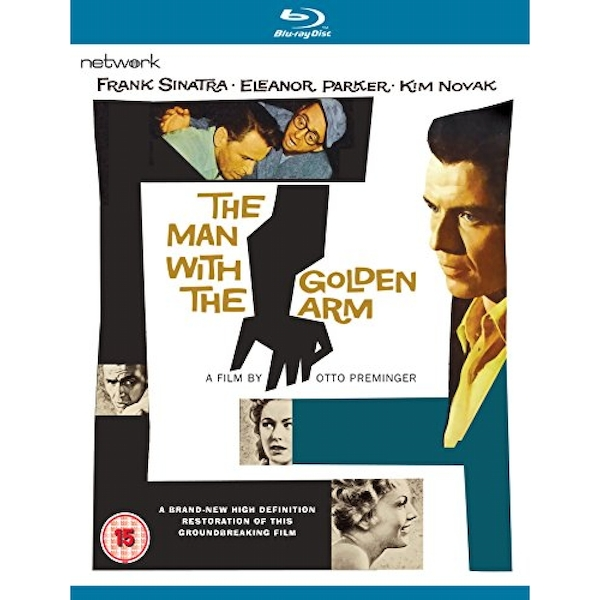 The Man with the Golden Arm Blu-ray
