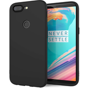 OnePlus 5T TPU Gel Case - Solid Black Matte