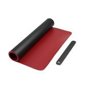 Large Desk Mat | M&W Black/Red
