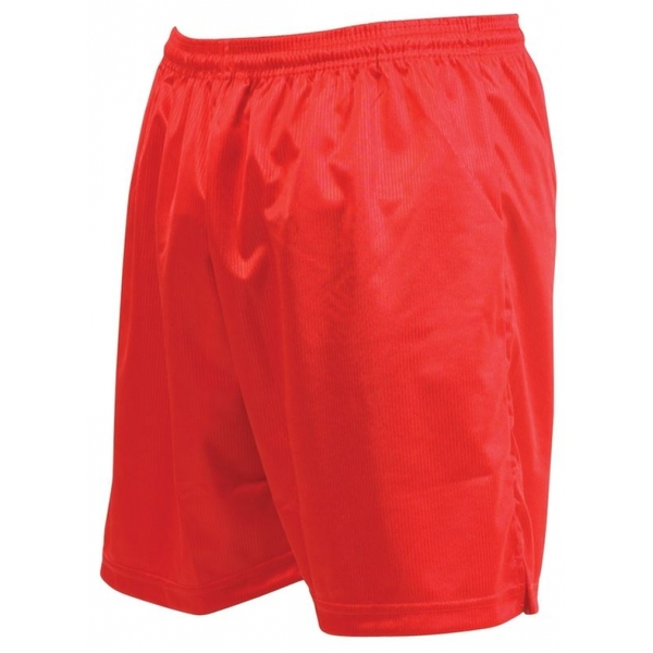 Precision Micro-stripe Football Shorts 30-32 inch Red