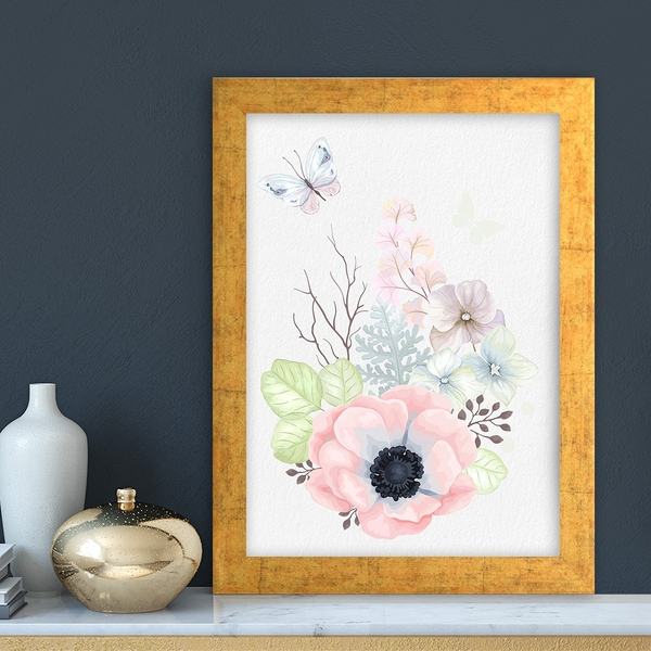 AC3887292223 Multicolor Decorative Framed MDF Painting