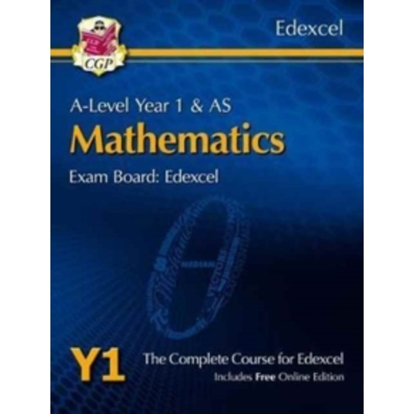 New A-Level Maths for Edexcel: Year 1 & AS Student Book with Online Edition