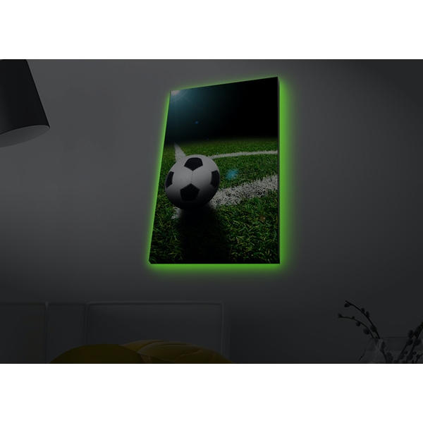 4570MDACT-057 Multicolor Decorative Led Lighted Canvas Painting