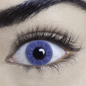 Misty Blue 1 Day Natural Coloured Contact Lenses (MesmerEyez)