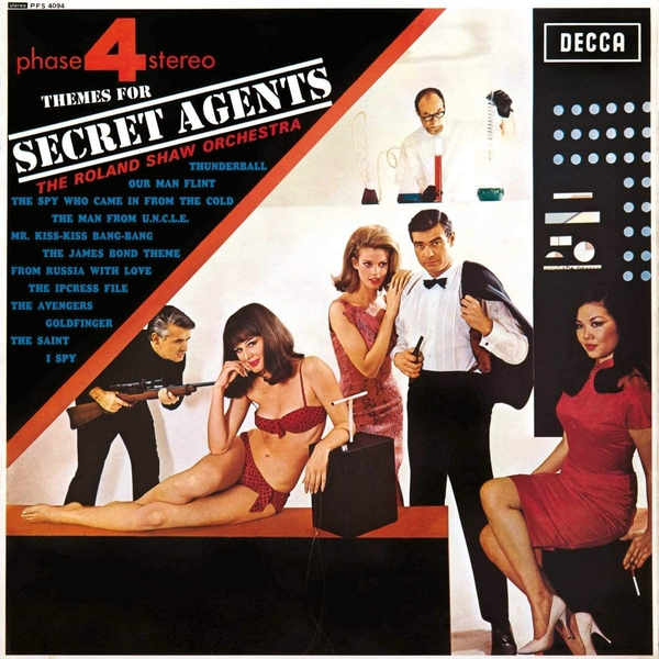Roland Shaw & His Orchestra - Themes For Secret Agents Vinyl