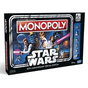 Star Wars Monopoly 40th Anniversary Special Edition Board Game