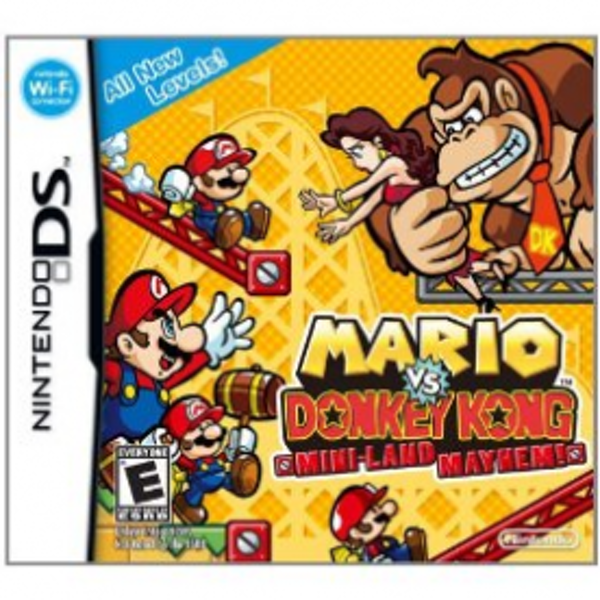 Mario vs Donkey Kong Mini-Land Mayhem Game DS  - Image 1