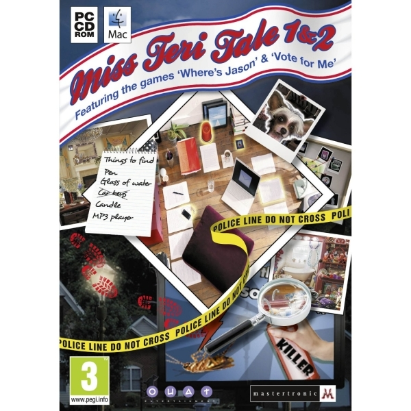 Ex-Display Miss Teri Tale 1&2 Double Pack Game PC Used - Like New
