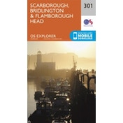 Scarborough, Bridlington and Flamborough Head by Ordnance Survey (Sheet map, folded, 2015)