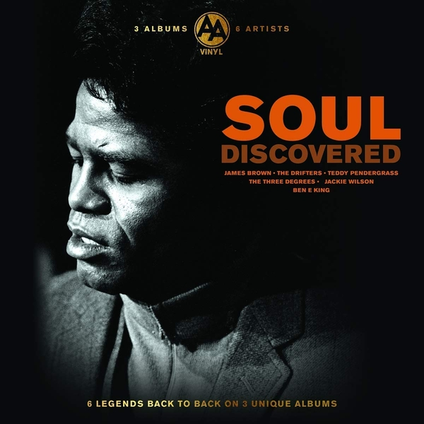 James Brown / Jackie Wilson / Ben E King / Jimmy Ruffin / The Drifters / The Three Degrees - Soul Discovered Vinyl