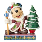 Jolly Ol St Mick Mickey Mouse Father Christmas Figurine