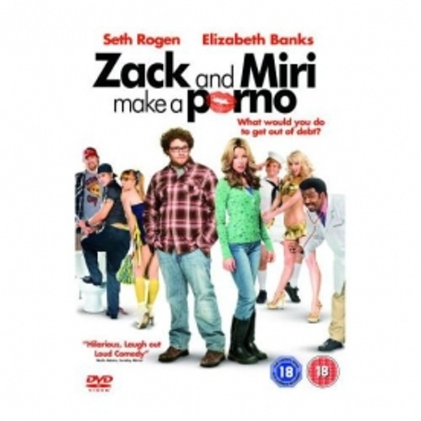 Zack & Miri Make A Porno DVD