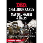 Dungeons and Dragons Martial Powers & Races Spell Deck