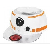Star Wars VII The Force Awakens BB-8 Astromech Droid Snapback Baseball Cap