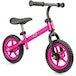 Xootz Balance Bike for Toddlers and Kids Training Bicycle with Adjustable Seat and No Pedals Pink - Image 2