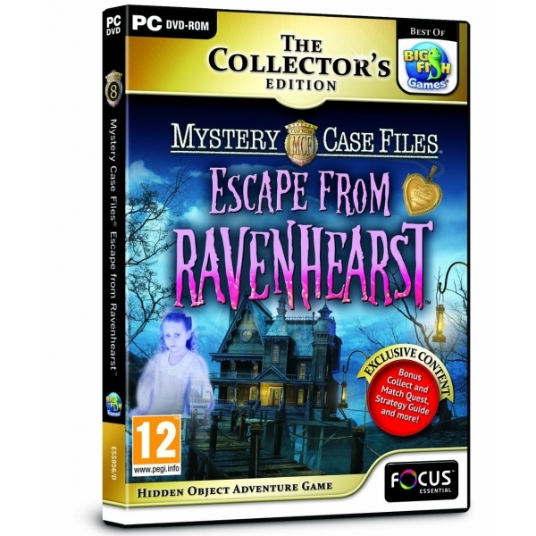 Mystery Case Files Escape from Ravenhearst Game PC
