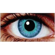 Two Blues 3 Month Coloured Contact Lenses (MesmerEyez Infusionz)