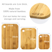 3 Bamboo Chopping Boards | M&W - Image 5