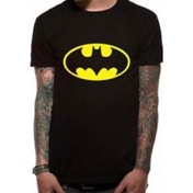Batman Logo DC Essentials Range T-Shirt XX-Large - Black