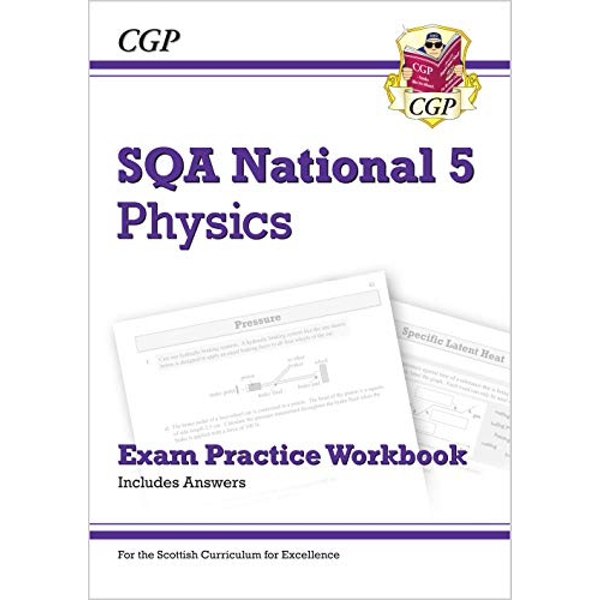 New National 5 Physics: SQA Exam Practice Workbook - includes Answers  Paperback / softback 2018