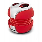 R.O.GNT 0004-21 Portable Bluetooth MP3 Capsule Speaker Red