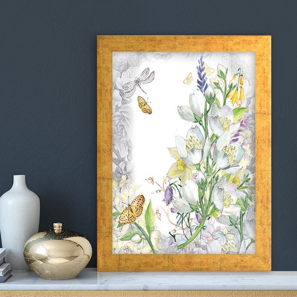 AC230219440 Multicolor Decorative Framed MDF Painting