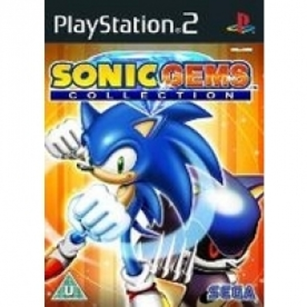 Sonic Gems Collection Game PS2