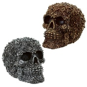 Gothic Nuts and Bolts Skull Decoration (1 Random Supplied)