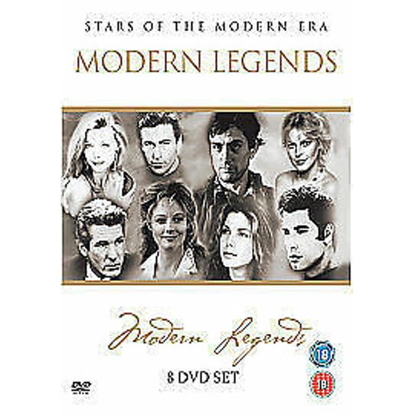 Modern Legends - Stars Of The Modern Era DVD 8-Disc Set Box Sets