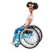 Barbie Fashionista Doll and Wheelchair - Brunette - Image 3