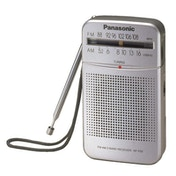 Panasonic RFP50DEG-S Portable AM/FM Radio Silver