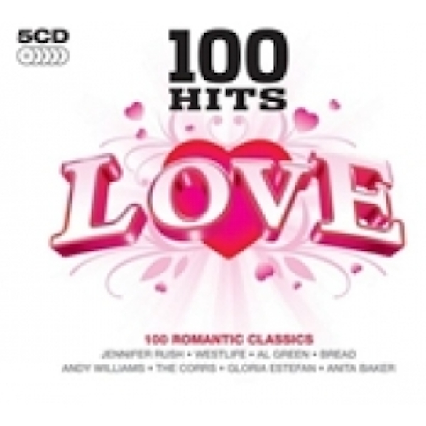 100 Hits Love CD