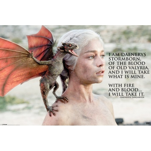 Game Of Thrones Daenerys Maxi Poster