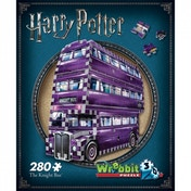 Harry Potter Hogwarts The Knight Bus 3D Wrebbit Jigsaw Puzzle