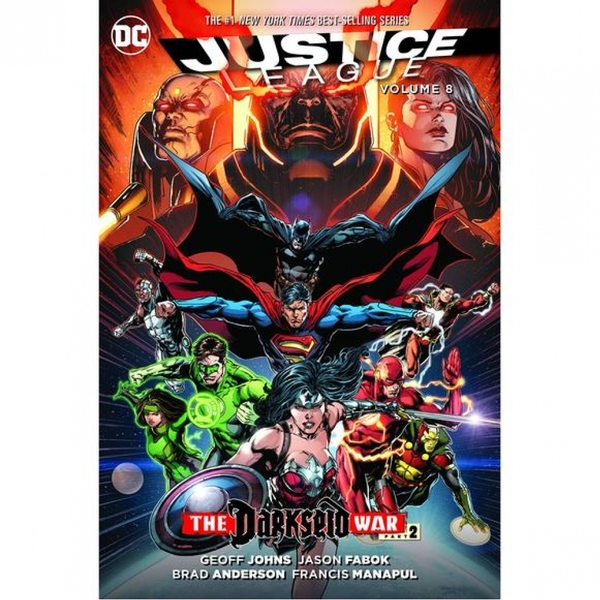 Justice League Volume 8: The Darkseid War: Part 2 - ozgameshop com