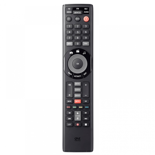 One For All Universal Remote Smart Control 5 Devices
