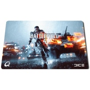 QPAD CT Battlefield 4 Limited Edition Pro Gaming Mouse Pad With Hybratek Coating