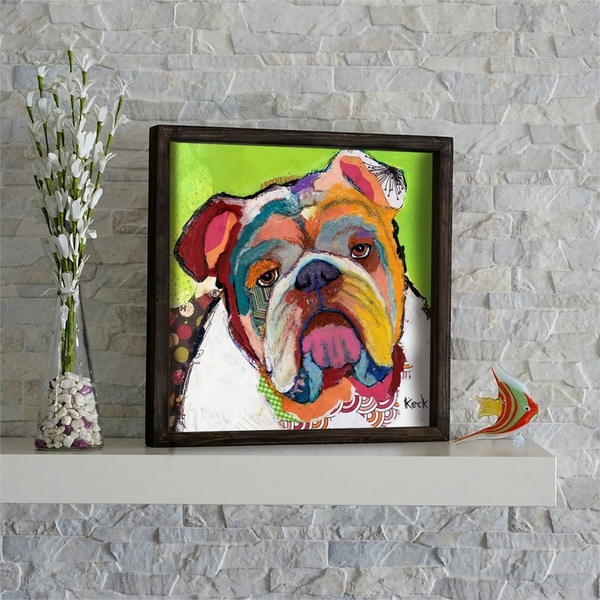 KZM469 Multicolor Decorative Framed MDF Painting
