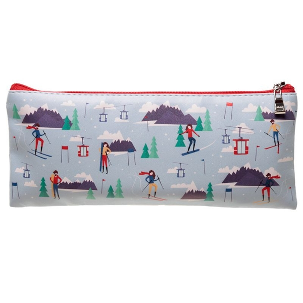 Peak Season Ski Design Pencil Case